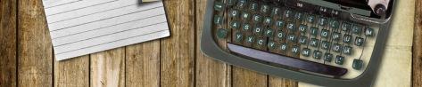 Typewriter-banner